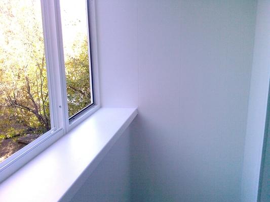 Образцы остекления балконов на хрущевках..